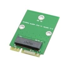 Mini pci express PCI-E pcie ngff M.2 NGFF ssd 2 Полосы 30 мм SSD до Половины Высоты Низкопрофильный pcie mSATA Адаптер Добавить на Карты PCBA