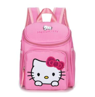 058a73f18ea8 Hello Kitty Girl s School Bag Child minnie Backpack Bags School Backpacks  Schoolbag Bags Lovely Children Backpack