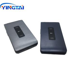 Image 4 - Celular yingai t39l original, telefone gsm, com flip, fm, dual sim, 2.8 polegadas, botão clamshell, desbloqueado, 2g celular móvel