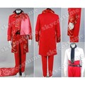 The Phantom of the Opera Masquerade Adult Halloween Fancy Deluxe Red Suit Uniform Cosplay Costume Free Shipping