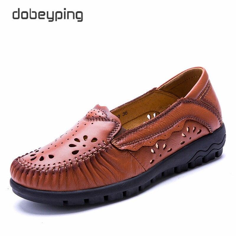 Schuh Atmungs Echtes Schuhen