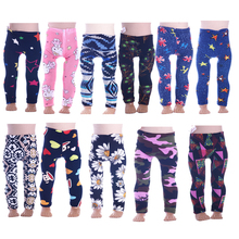1818cd34faf079 11 Styles Handmade Leggings Tight Pants Fit 18 Inch American Doll Baby Doll  Clothes Accessories(