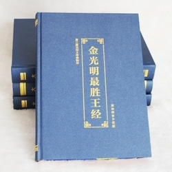 Sutra of golden light with pin yin / Buddhist books in Chinese Edition
