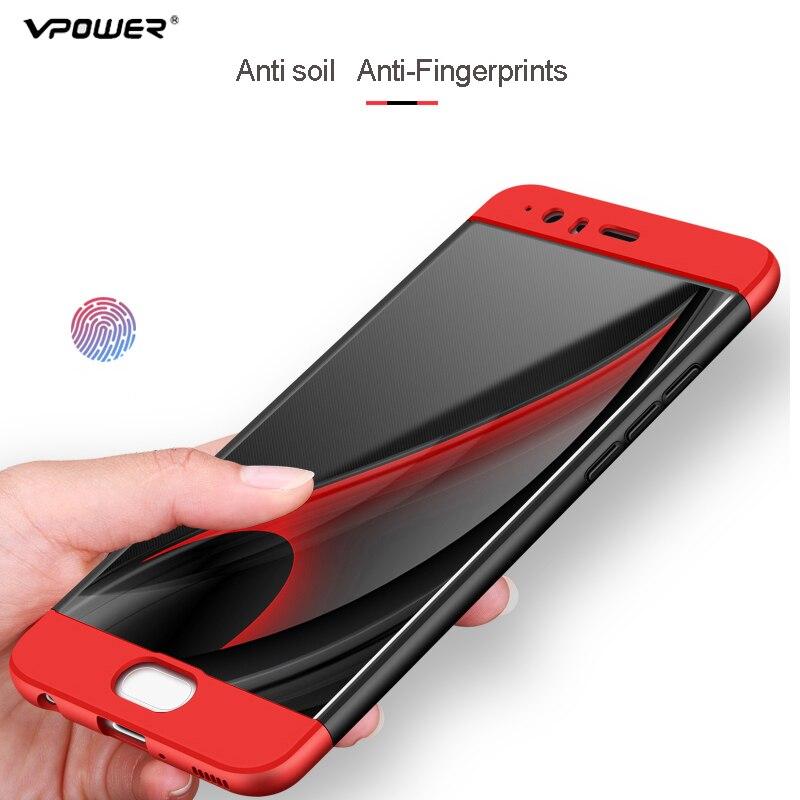 Vpower για Huawei P10 Case Huawei P10 Plus Cover Full Body Body - Ανταλλακτικά και αξεσουάρ κινητών τηλεφώνων - Φωτογραφία 4