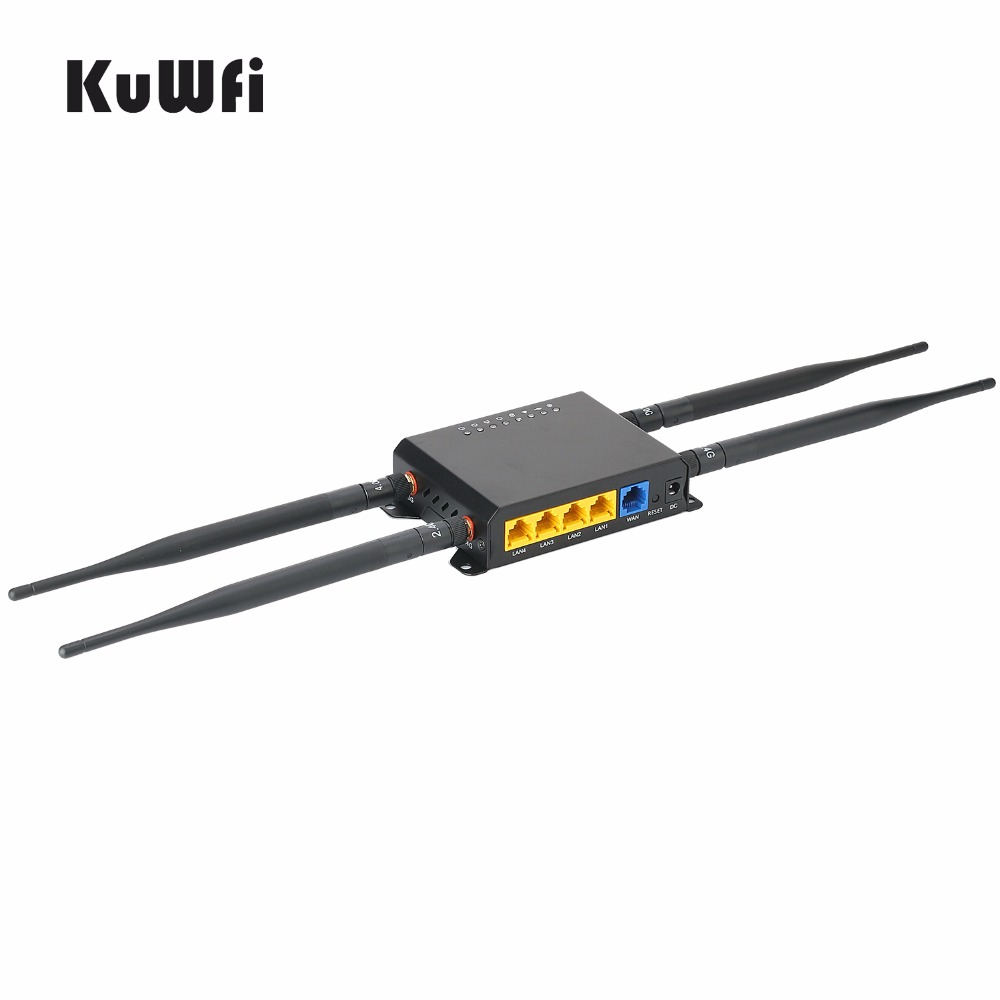 300 Mbps High Power Lange Range 128 M OpenWrt 3G / 4G SIM Auto - Netwerkapparatuur - Foto 3