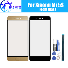 For Xiaomi Mi 5S Front Glass Screen Lens 100% Original Front Touch Screen Glass Outer Lens for Xiaomi Mi 5S 5.15 inch+Tools