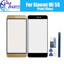 Voor Xiaomi Mi 5S Voor Glas Scherm Lens 100% Originele Front Touch Screen Glas Outer Lens Voor Xiaomi Mi 5S 5.15 Inch + Gereedschap
