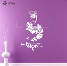 YOYOYU Wall Decal Hip Hop Rap Singer Vinyl Stickers For Teens Rooms Boys Bedroom Interior Home Decor Cool Removable SY691