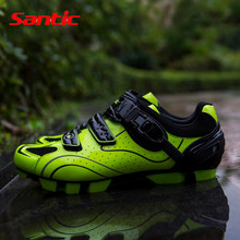 Santic Cycling Mtb Road Bike Shoes Breathable Quick Release Lock Riding Shoe Bicycling Racing Wear Equipment Accessories(China)