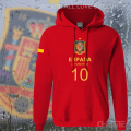 Spain nation team hoodiesmen sweatshirt sweat suit streetwear socceres jersey footballer tracksuit Spanish fleece 2017 ES ESP