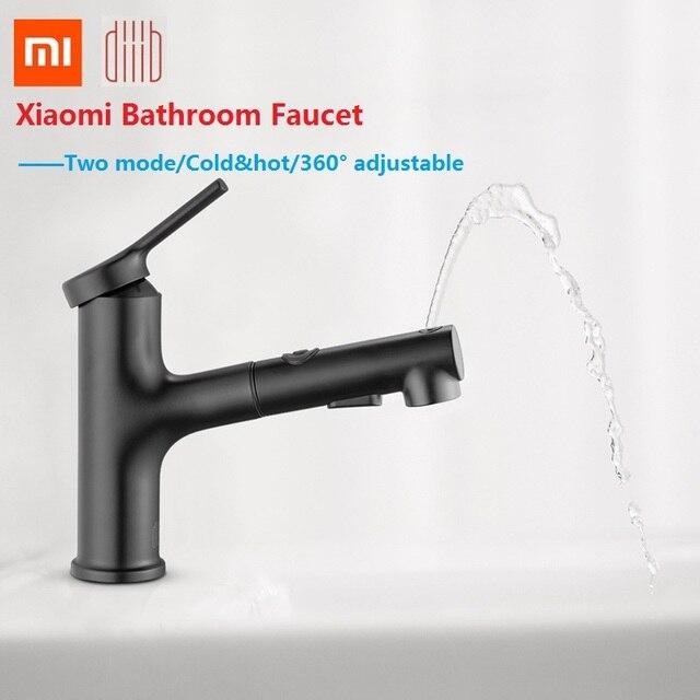 Xiaomi 浴室シンク蛇口キッチンシャワーシンク簡単うがいプルアウトからリンサ噴霧器ステンレス鋼シンクホット & コールド youpin