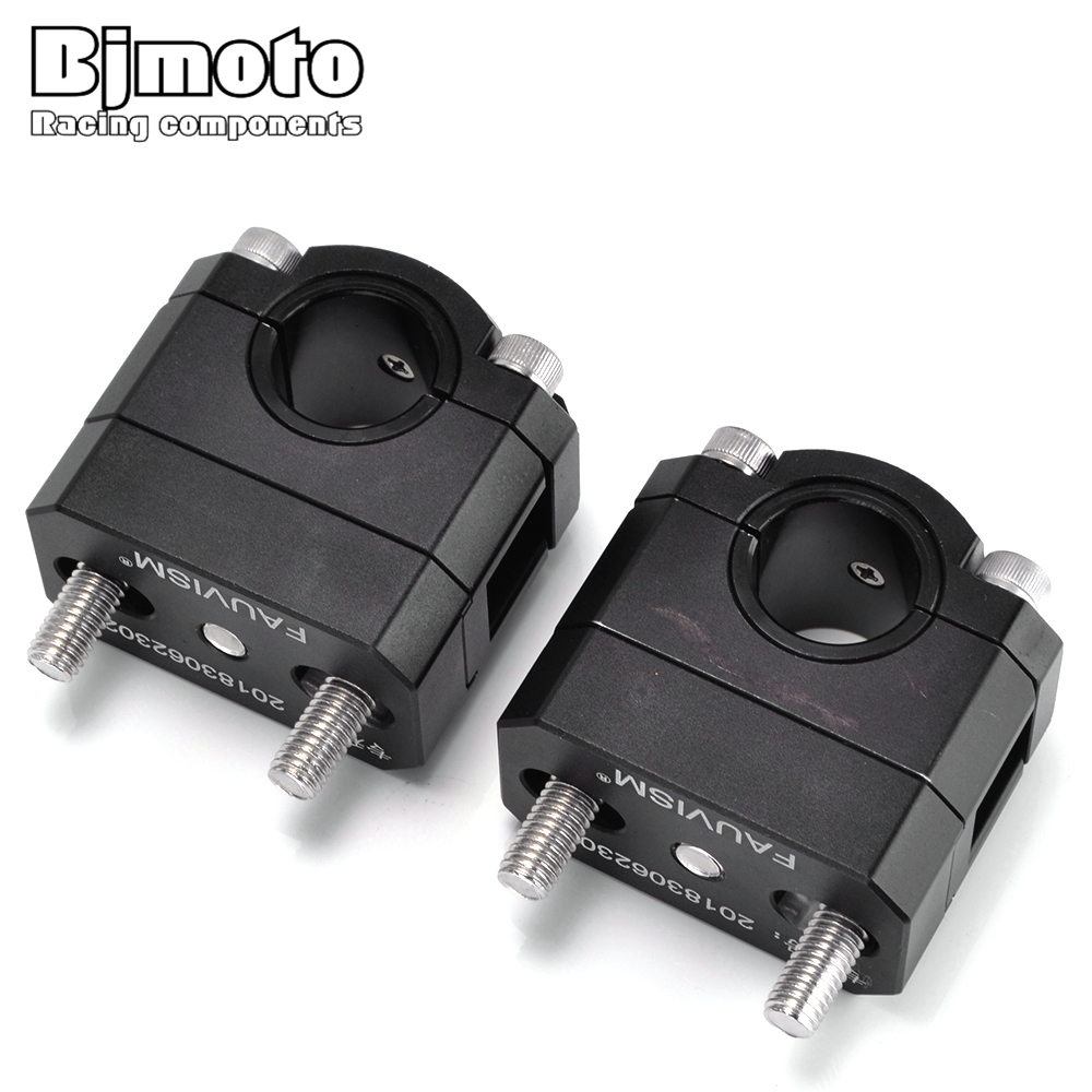 BJMOTO 22 28mm Motorcycle Handlebar Riser Fat handleBars Clamp For BMW G310GS G310R F800GS F800GT F800GS