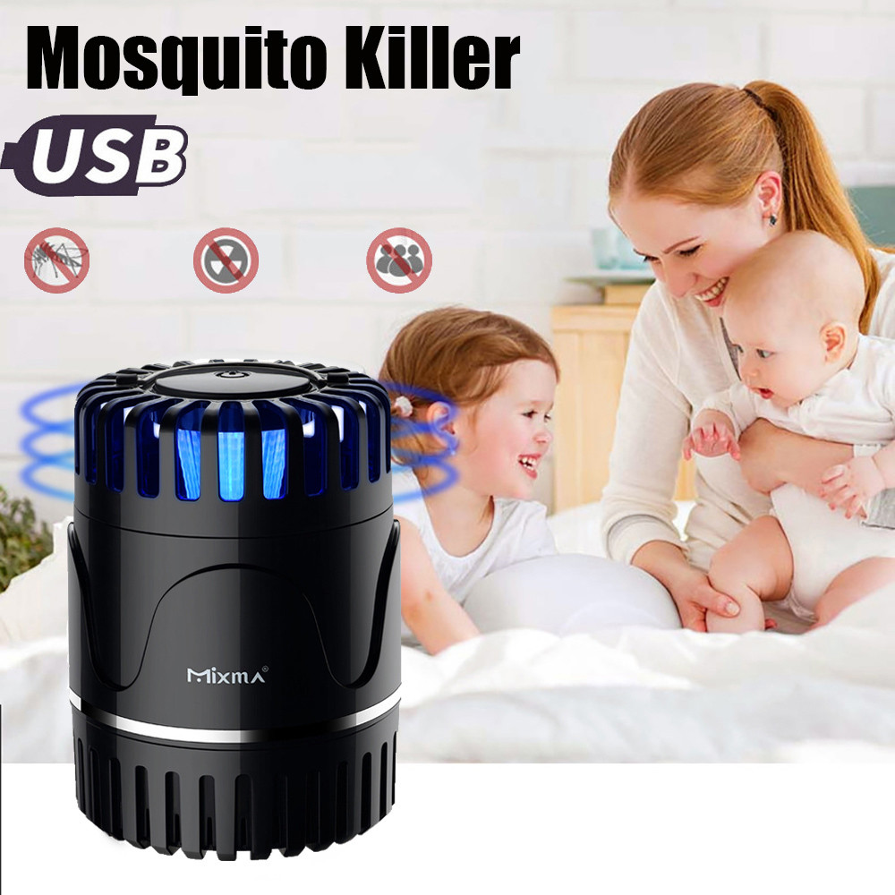 Electric Fly Bug Zapper Mosquito Insect Killer Pest Control LED Trap Night Lamp
