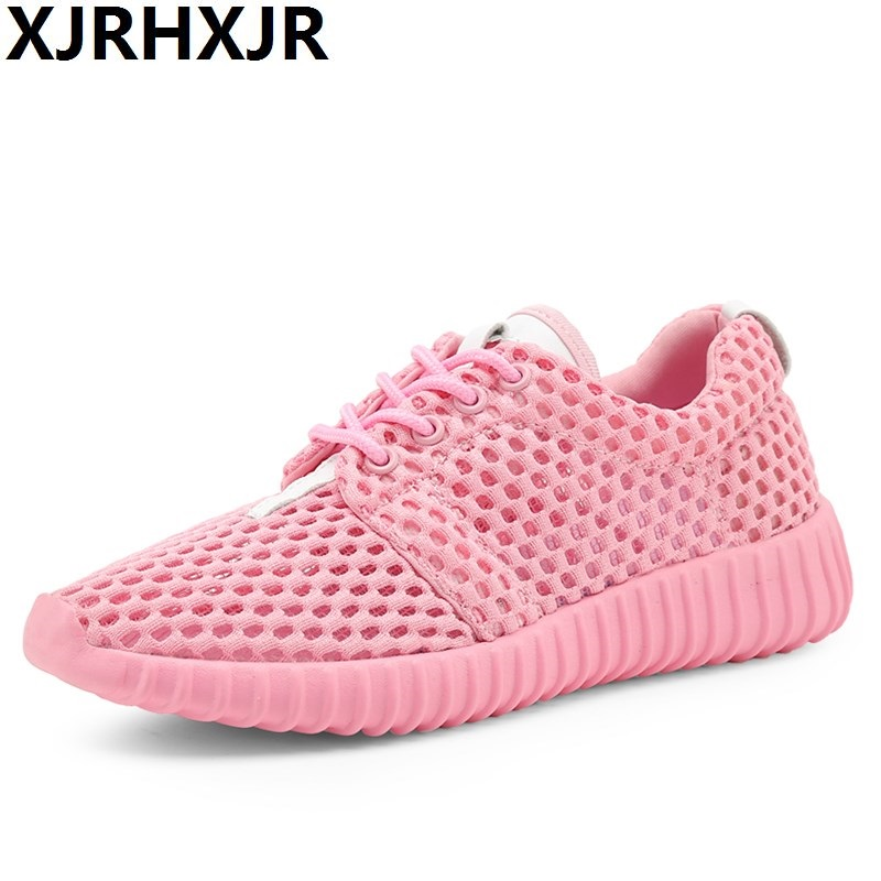 2017 Hot Sale Summer Lightweight Breathable Mesh Women Fashion Casual Shoes Lace Up Flats Zapatillas Deportivas 2017 wholesale hot breathable mesh man casual shoes flats drive casual shoes men shoes zapatillas deportivas hombre mujer