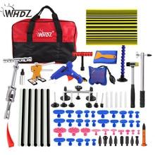 WHDZ PDR Tools Hand Tool Sets Car Paintless Dent Repair Tool Set Dent Puller Tabs Glue