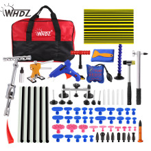 WHDZ PDR Tools Hand Tool Sets Car Paintless Dent Repair Tool Set Dent Puller Tabs Glue Gun Slide Hammer