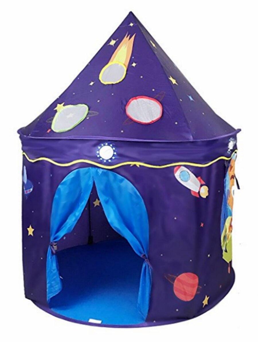 XD-ET2 Kid Jouer Tente Portable Espace Thème Château Intérieur En Plein Air Drôle Jeu Maison Pour Enfants Enfants Meilleur Cadeau