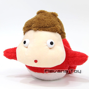 Ponyo на скале Kawaii Ponyo плюшевая игрушка мягкая кукла 20 см
