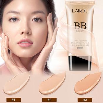 LAIKOU krem BB baza matowy 50g makijaż osłona przeciwsłoneczna długotrwałe nawilżające idealne pokrycie twarzy fundacja koreańskie kosmetyki TSLM1 tanie i dobre opinie ELECOOL Wszystkich rodzajów skóry CHINA Liquid Foundation W pełnym rozmiarze MZ84419_ Krem nawilżający Kontrola oleju