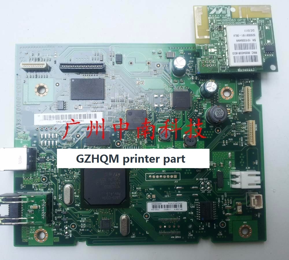 CE853-60001 formatter board for HP CLJ PRO 100 MFP M175A