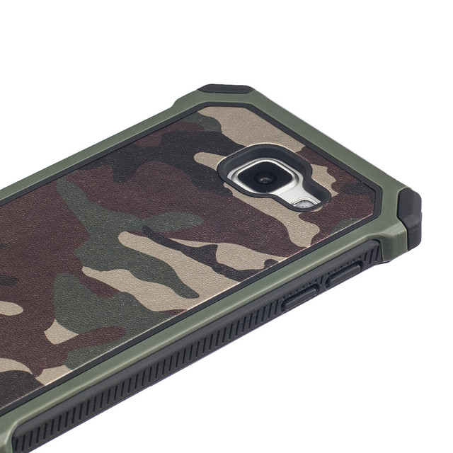 Hybrid Dual Layer Army Armor Camouflage ShockProof Defender Cover Case For Samsung Galaxy S4 S5 S6 S7 Edge Plus Phone Cases