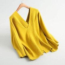 Модные женские свитера и пуловеры с длинным рукавом, повседневный вязаный шерстяной свитер, женская уличная одежда, Свободное пальто, женская блузка