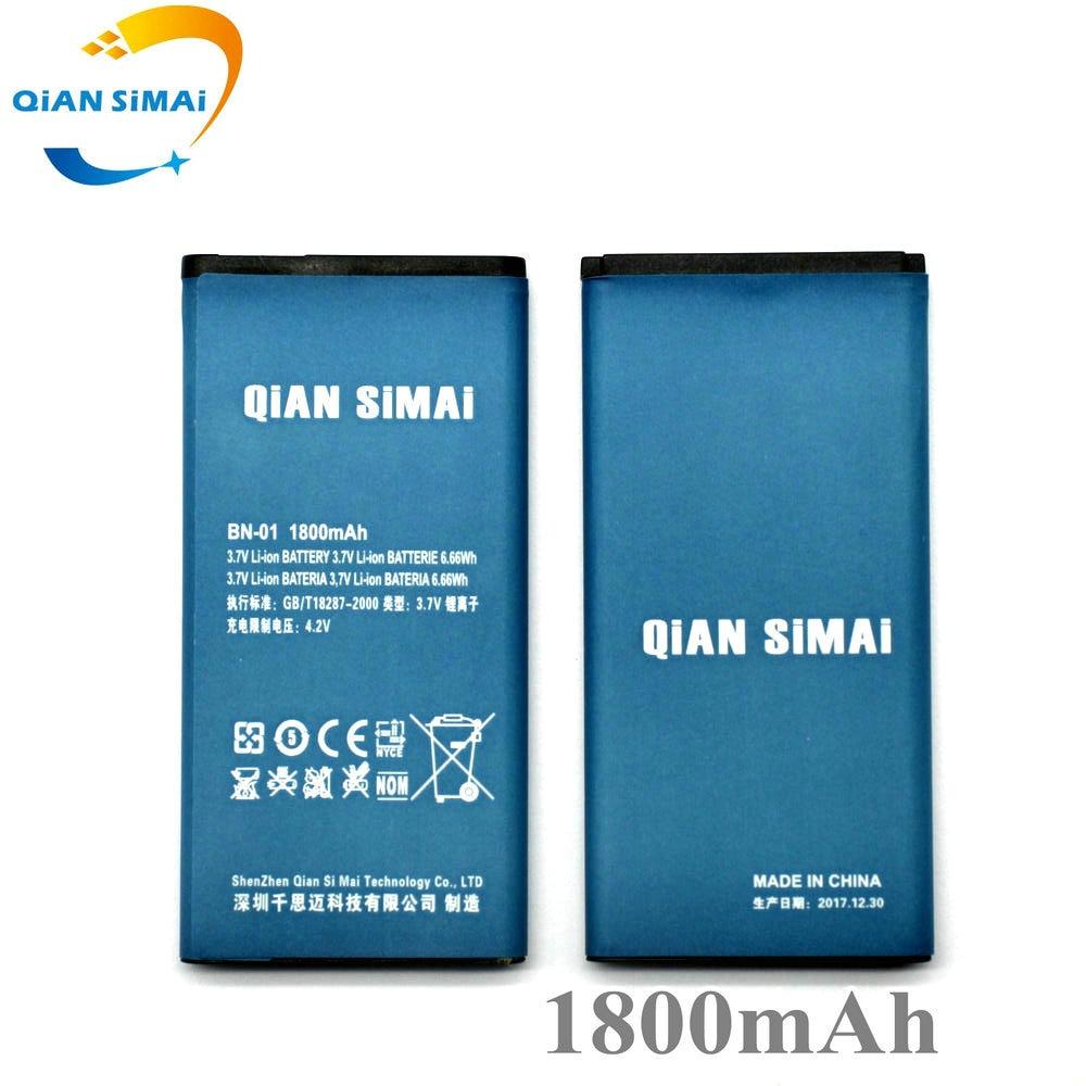QiAN SiMAi BYD BN-01 BN 01 BN01 1800 mAh Batterie de Remplacement Pour Nokia Lumia X 1045 RM-980 RM 980 Normandie téléphone