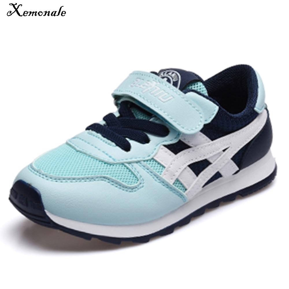 Xemonale enfants chaussures 2018 nouveaux garçons baskets filles Sport chaussures enfant loisirs formateurs décontracté respirant enfants chaussures de course