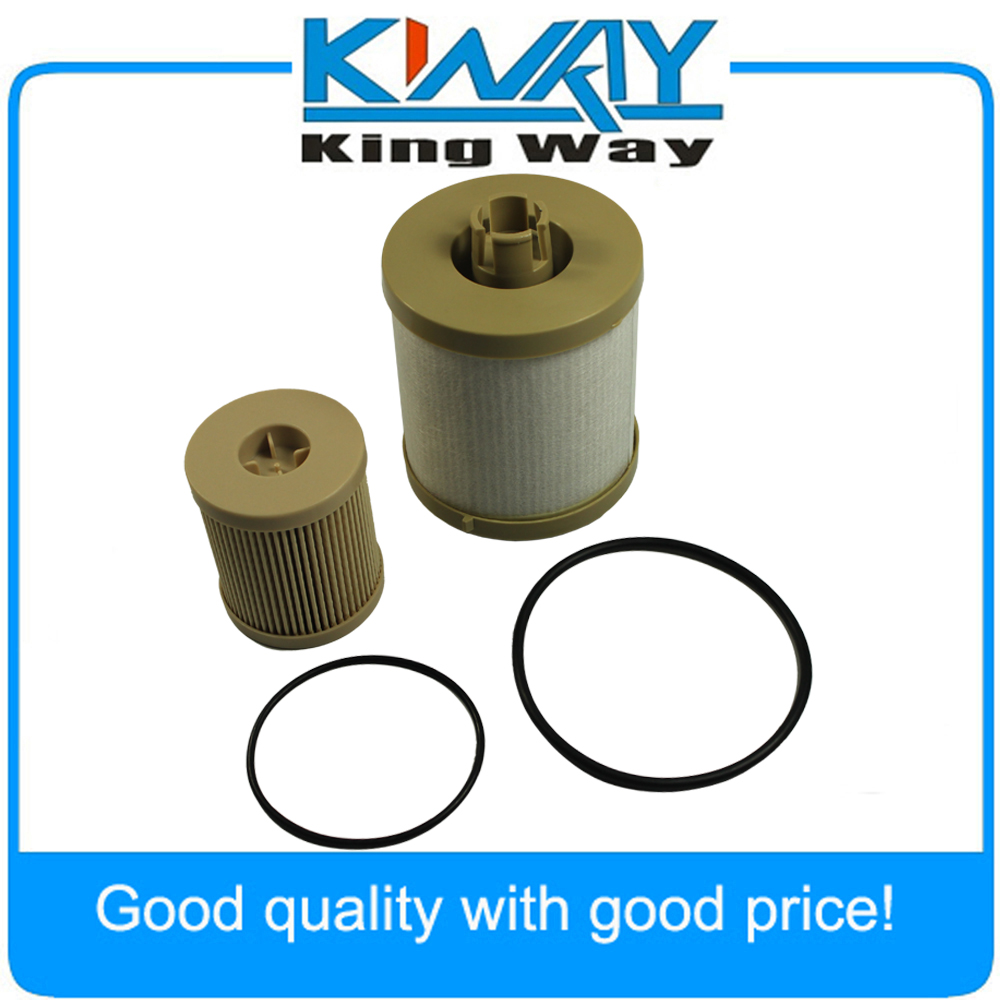 small resolution of new fuel filter diesel for ford 6 0 f250 f350 f450 powerstroke fd4604 fd4616 in oil