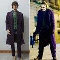 Batman The Dark Knight Joker Costume Batman Joker Suit Outfits Classic Halloween Cosplay Movie Hero Costume Full Set Custom Made