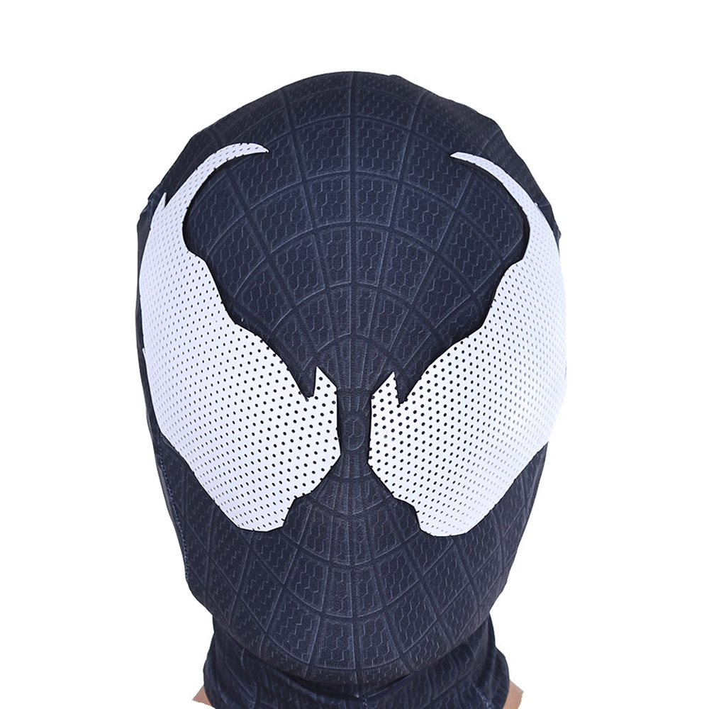 spiderman black mask - 1000×1000