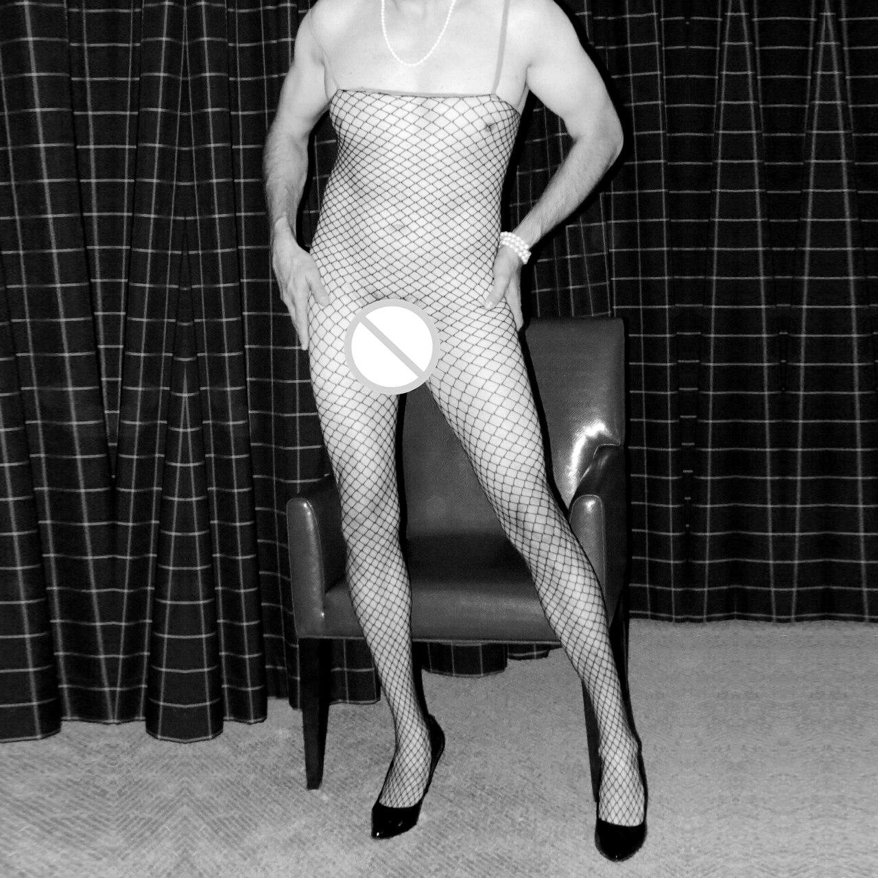 2017 Sexy Men Stockings Tight Fashion Men Pantyhose Gay