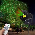 Landscape Stars Stage Light Night Sky Laser Projector With Remote Control Outdoor Christmas Party Disco Show US/EU Plug
