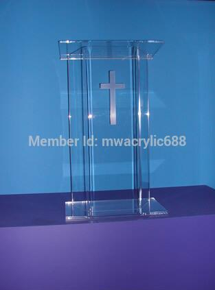 Free Shipping Acrylic Lectern Beautiful Sophistication Price Reasonable Clean Acrylic Podium Pulpit Lecternacrylic Podium