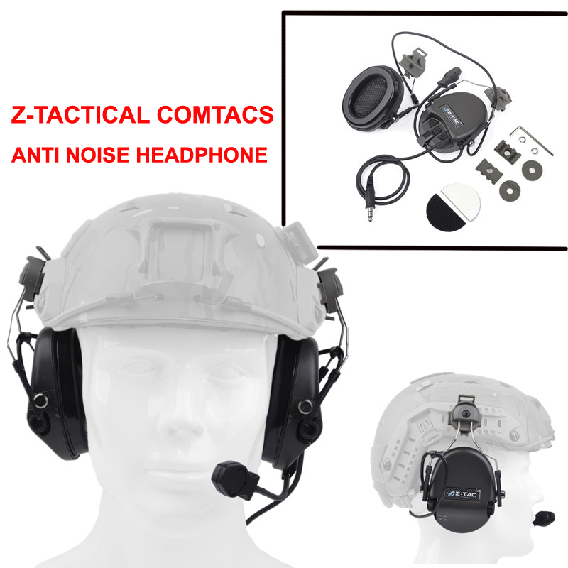 New Z-Tactical Sordin Headset for Fast Helmet Rail Adapter Headset New arrivals Sordin headset for Fast helmets anti-noise