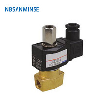 NBSANMINSE Direct acting square coil Two way two position solenoid valve Pressure 0~0.9MPa Connection size 1/4&1/8&3/8 QX22-06S