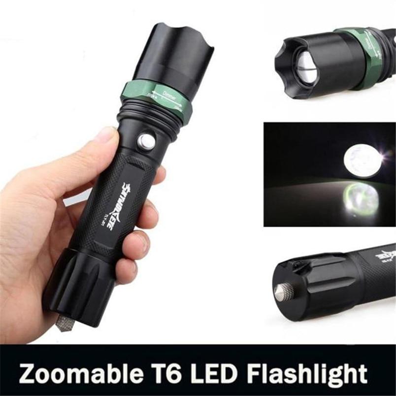 Diligent 3500 Lumens 3 Modes Cree Xm-l T6 Led 18650 Compact Waterproof Flashlight Lamp Noj06 Discounts Sale Lights & Lighting