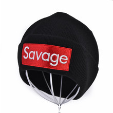 Savage Beanie Hats Cap Winter Hats For Women Men Knitted Girls Winter Brand Hat Female And Male Warm Outdoors Skullies Caps цены онлайн