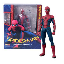 15 centímetros Marvel SpiderMan Spider Man Home coming BJD Spider-man Figura Modelo Brinquedos(China)