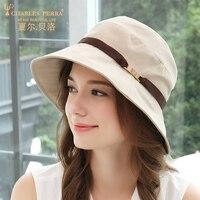 Visor Hat Female Summer Outdoor Sunshade Hats Women Leisure Sunscreen Breathable Fashion Anti UV Elegant Fisherman Lady Cap H193