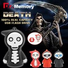 USB Flash Drives 32GB Skeleton Pendrives 16GB 4GB 8GB
