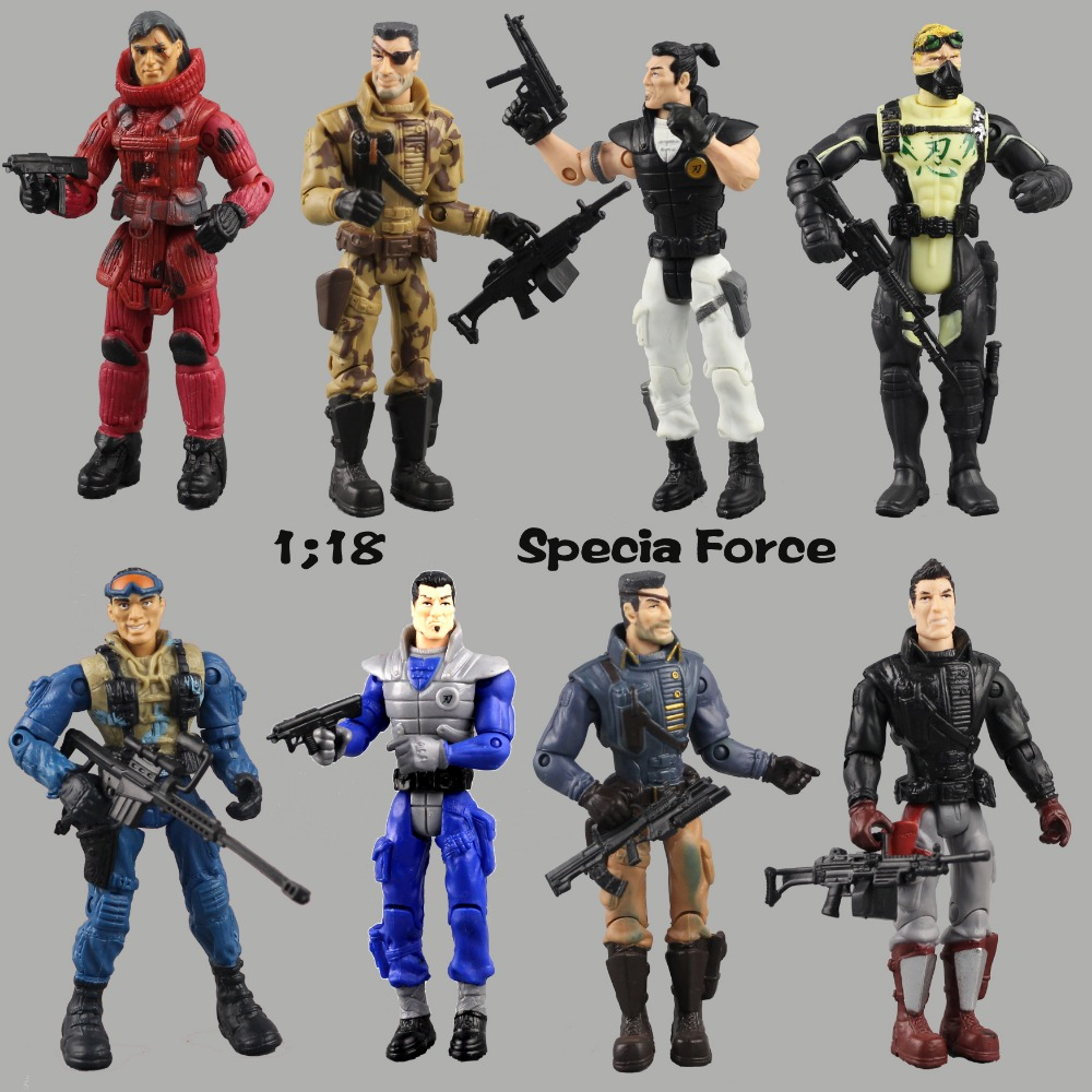 Lanard Elite Force 1:18 Military Action Figure Doll Statue 3.75 Inch