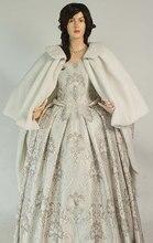 Renaissance Costume Short Cape Cloak Handmade Dress