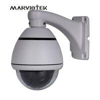 1080 P IP Камера PTZ 4X зум Водонепроницаемый PTZ высокой Скорость купол Камера открытый Водонепроницаемый ИК P2P видеонаблюдения Камера IP Onvif