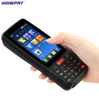New 4G Mobile PDA Intelligent Programmable Handheld POS Mobile Bluetooth Terminal With Camera HS 4001
