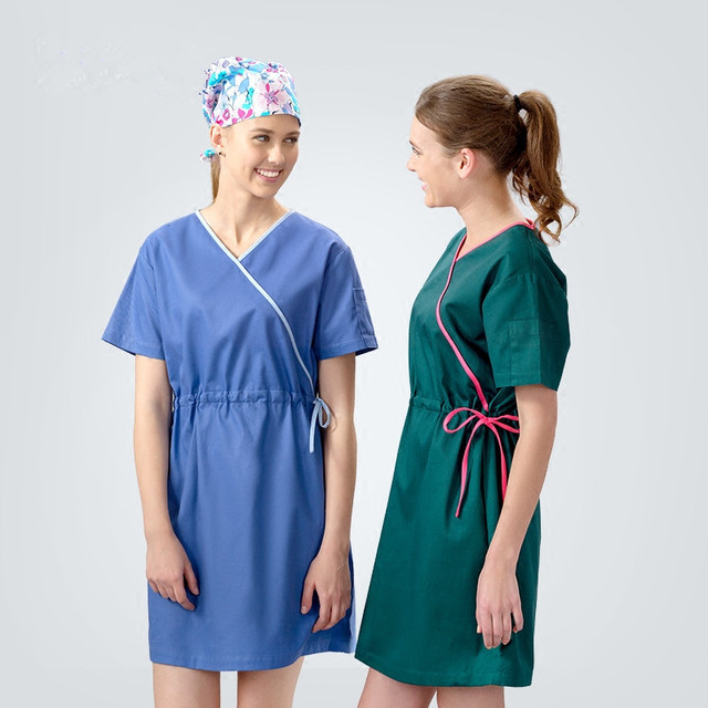 Medline Patient Gown Healthcare Hospital Gowns Wrap Medical Scrub ...