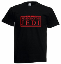 Star Wars REVENGE OF THE JEDI reproduction crew T-shirt - Return Force Awakens Free shipping  Harajuku Tops Fashion Classic