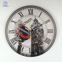 Wall Clock London Big Ben Large Decorative Modern Design More Silent Vintage Home Decor Roman Number Wall Watch