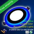 O Projeto Redondo novo Painel de LED Downlight 5 W 9 W 16 W 24 W 3 modelo de Painel de LED Luzes AC85-265V Recesso Luzes do Painel de Teto CE ROHS