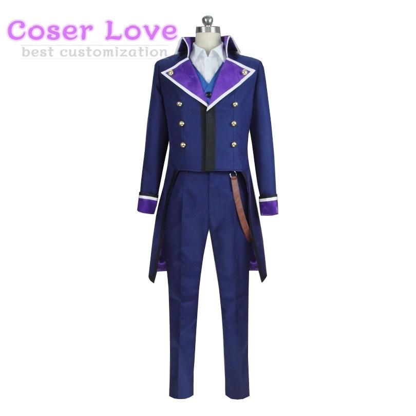 K sept histoires côté bleu Takeru Kusuhara Cosplay Costume Halloween noël Costume